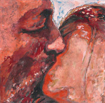 The Kiss Red by florin
