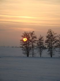 Winterlandschaft von Ka Wegner