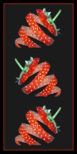 Strawberry-peel