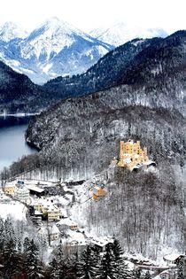 Alps & Castle von Bianca Baker