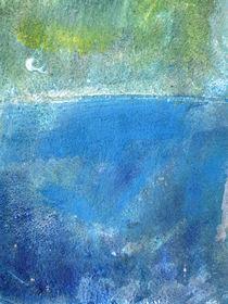 Blau II von Heike Jäschke