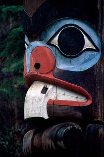 Beaver Totem 204 von Patrick O'Leary