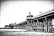 North Pier Blackpool by inkedsandra