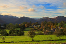 Lake District Village by Louise Heusinkveld