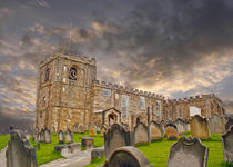 St Mary's Church Whitby by John Biggadike