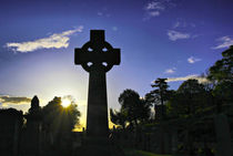 Celtic Cross #1 von Buster Brown Photography