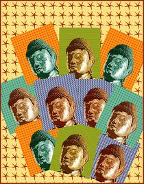 Pop Buddhas by Ipso Imago