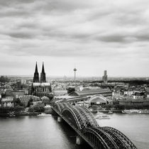 Köln Skyline #02 by Nina Papiorek