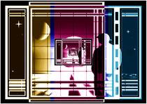 Panoramafenster zu den Sternen. by Bernd Vagt