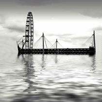 Watery (London) Eye by sharon lisa clarke