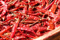 Dried red Chillies, Sri Lanka von reorom