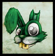 Bunny mad by Gustavo Monky Urquieta