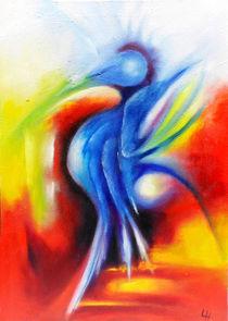 Blauenfantasie by Lydia  Harmata