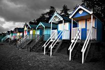 Wells Beach Huts von Mark Bunning