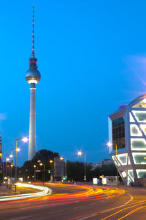 Berlin TV Tower (HDR) by Bianca Baker