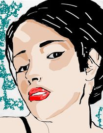 A woman by Alvin Andro Meda