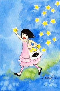 Fill The Sky With Stars by Anna Bieniek