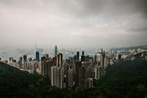 Wolken über Hong Kong von Eduard Warkentin
