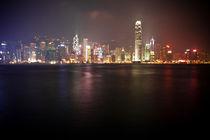 Hong Kong Skyline von Eduard Warkentin