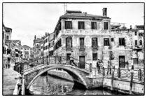Stadtbrücke in Venedig von Matthias Töpfer