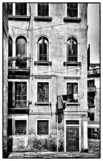 Venezianische Hausfassade von Matthias Töpfer