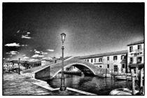 Venezianische Kanalbrücke von Matthias Töpfer