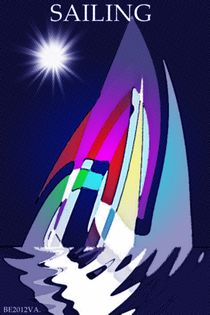 Sailing. von Bernd Vagt