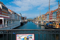 Copenhagen river view by Alberto Vaccari