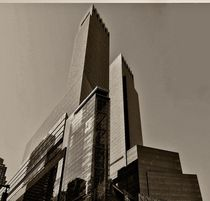 Scyskraper at 8th Ave. in NYC by Maks Erlikh