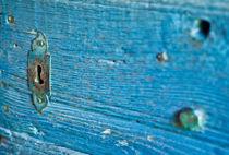 Vintage turquois - Schlüsselloch