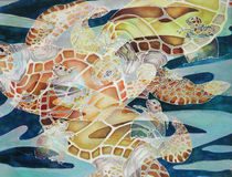 Turtle Fusion by Monica Linville