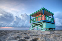 Miami LifeGuard Tower 3 by Martin Williams