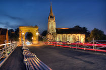 Marlow Bridge by Martin Williams