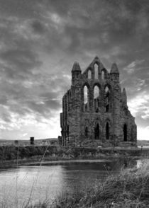 Whitby Abbey 2 by John Biggadike