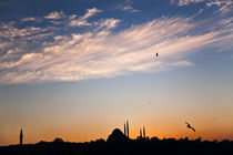 A Sunset From Istanbul by Engin Sezer