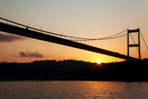 Fatih Sultan Mehmet Bridge At The Sunrise by Engin Sezer