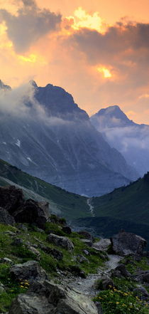 Alpen by Peter Mahler