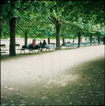 Jardin du Luxembourg by Eugene Zhulkov