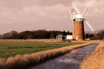 Horsey Mill Landscape by Mark Bunning