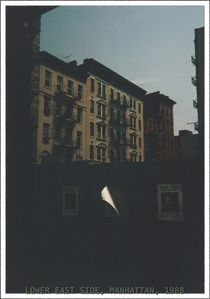 LOWER EAST SIDE, MANHATTAN, 1988 by photofiction