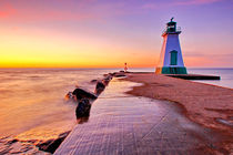 Port Dalhousie Lighthouse von Zoltan Duray