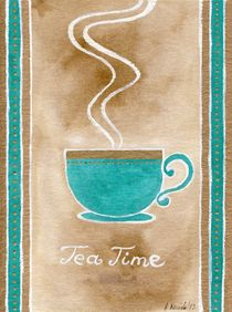 Tea Time by Anna Bieniek
