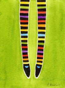 Colorful Stripes by Anna Bieniek