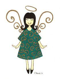 Little Angel by Anna Bieniek