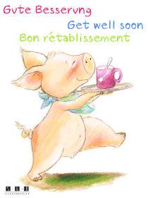 Gute Besserung Bon rétablissement Get well soon von sarah-emmanuelle-burg