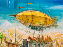 Dirigible by Oleksiy Tsuper
