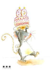 Happy Birthday 60 von sarah-emmanuelle-burg