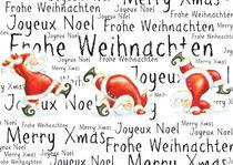 Joyeux Noël Frohe Weihnachten Merry Xmas von sarah-emmanuelle-burg