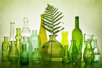 Green bottles by Erik Jonker