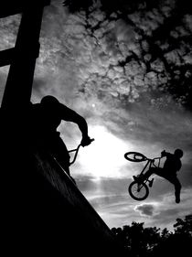BMX-Contest by Rosemarie Rosenroth